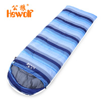 Outdoor Camping Portable Sleeping Bag Naturehike Waterproof Envelope Sleeping Bag Three Seasons Backpacking Travel Lazy Bag