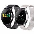 Original k88h pista de smart watch reloj mtk2502 marcación bluetooth heart rate monitor podómetro smartwatch para android ios nuevo