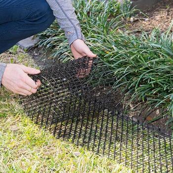 Новый горячий зеленый садоводческий пластиковый анти-черный PP Кот шип кошка собака комаров пластмассовый коврик для кошек и собак