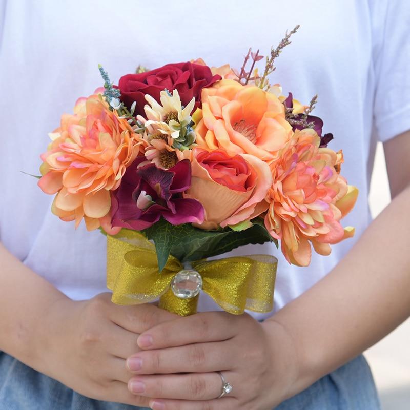 DSC_8581  Romantic Synthetic Wedding ceremony Bouquets Flower 2018 Boutonnieres for Groomsman Man Go well with Bridemaid Wrist Corsage Wedding ceremony Equipment HTB1 p Sc5qAXuNjy1Xdq6yYcVXa0