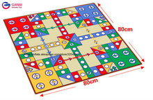Best toys ze Chess Game Carpet Ludo Board Mat at cheap price