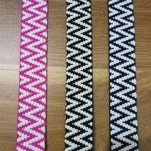 GAFABRIC Webbing Woven Cotton 3cm width thread Ribbon Decorative DIY Accessories 10Yards