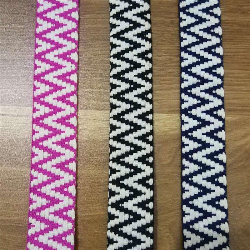 De color blanco 30 mm Ancho Lona de cinta de algodón suave Tapicería De Cinta Reforzada