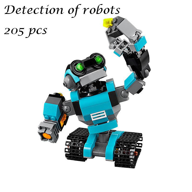 LEPIN 24020 Creative Series The 3in1 Explorer Robot Educational Building Bricks Blocks Toy for Children gift compatible 31062 building blocks stick diy lepin toy plastic intelligence magic sticks toy creativity educational learningtoys for children gift