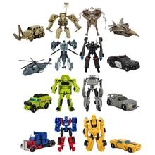8cm Transformation Robot Toy Car Prowl Bumblebee Optimus Pri