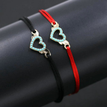 Herz-Armbänder für Paare