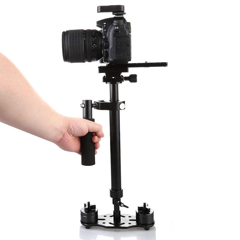 S60T Professional Portable Carbon Fiber Mini Handheld Camera Stabilizer DSLR Camcorder Video SteadicamS60T Professional Portable Carbon Fiber Mini Handheld Camera Stabilizer DSLR Camcorder Video Steadicam