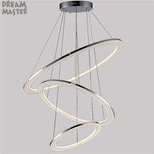 Современный светодиодный подвесной светильник с акриловыми люстрами