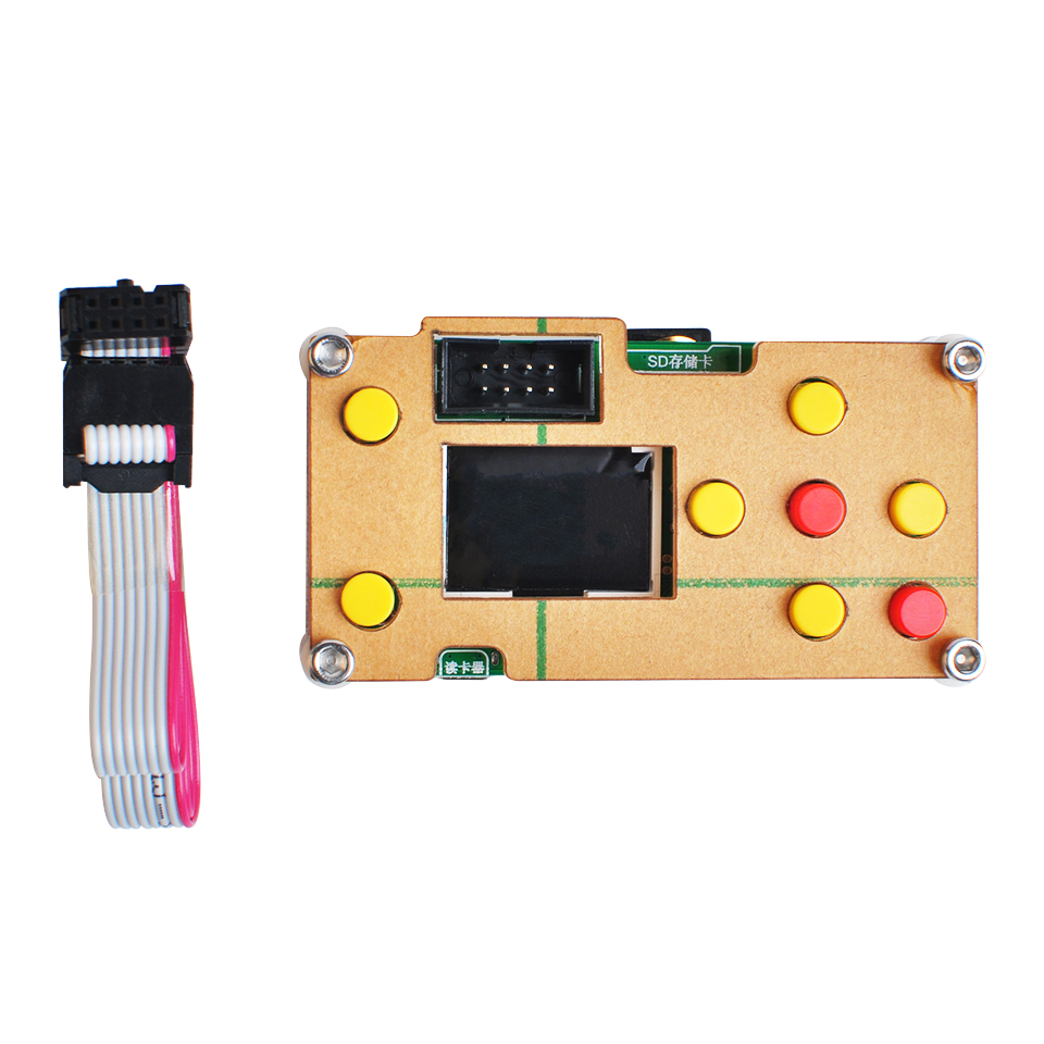 Mini 3 Axis Control Board Offline Controller GRBL Controller With SD Card For CNC 3018 2418 1610 DIY Laser Engraver Milling