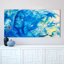 Southwinds Blue Girl Wall Picture