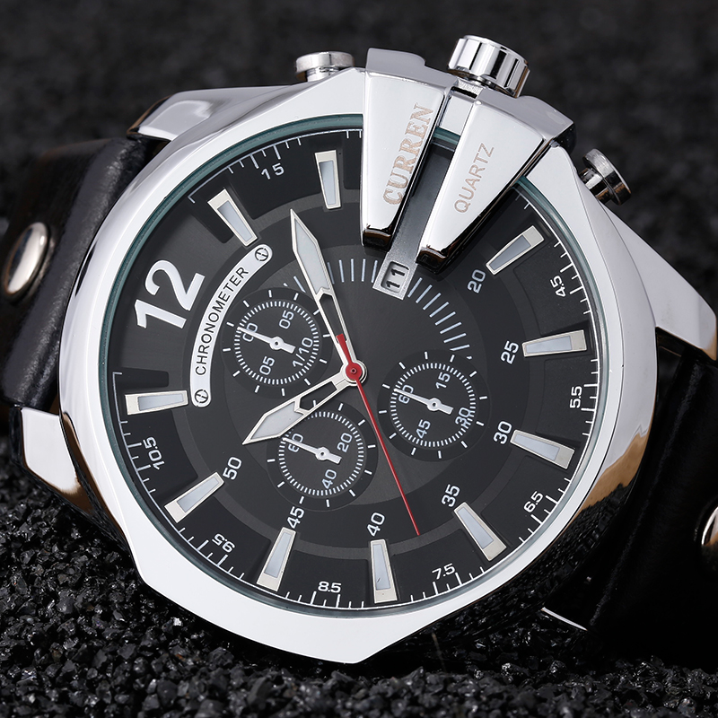 ᐃRelogio Masculino CURREN Men Watches ༼ ộ_ộ ༽ 2016 2016 ...