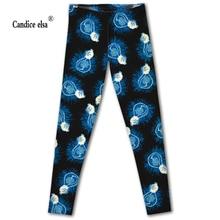 Drop shipping high quality leggings women slim fashion light bulb leggings digital print leggings plus size
