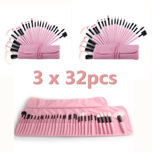 3 x 32pcs Makeup Brushes Sets