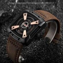Original Mens Watches Luxury Sport Spure TOP Brand KADEMAN 3ATM Casual Leather Wristwatches Business Male Quartz Relogio