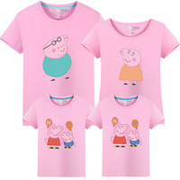 2017 Summer T Shirts For Family Matching Mother Daughter Clothes Father And Son Clothing Outfits Family