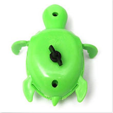 1pc the most interesting gift for baby Funny Toys Swimming Chain Turtle Baby Bath Toys 5.16(China)
