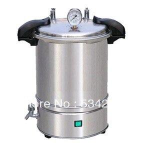 18L PORTABLE Pressure Steam AUTOCLAVE (quick-open)