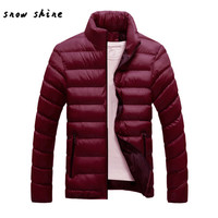 Woweile 4001 Winter Warm Slim Fit Thick Bubble Coat Casual Jacket Parka Outerwear For Women
