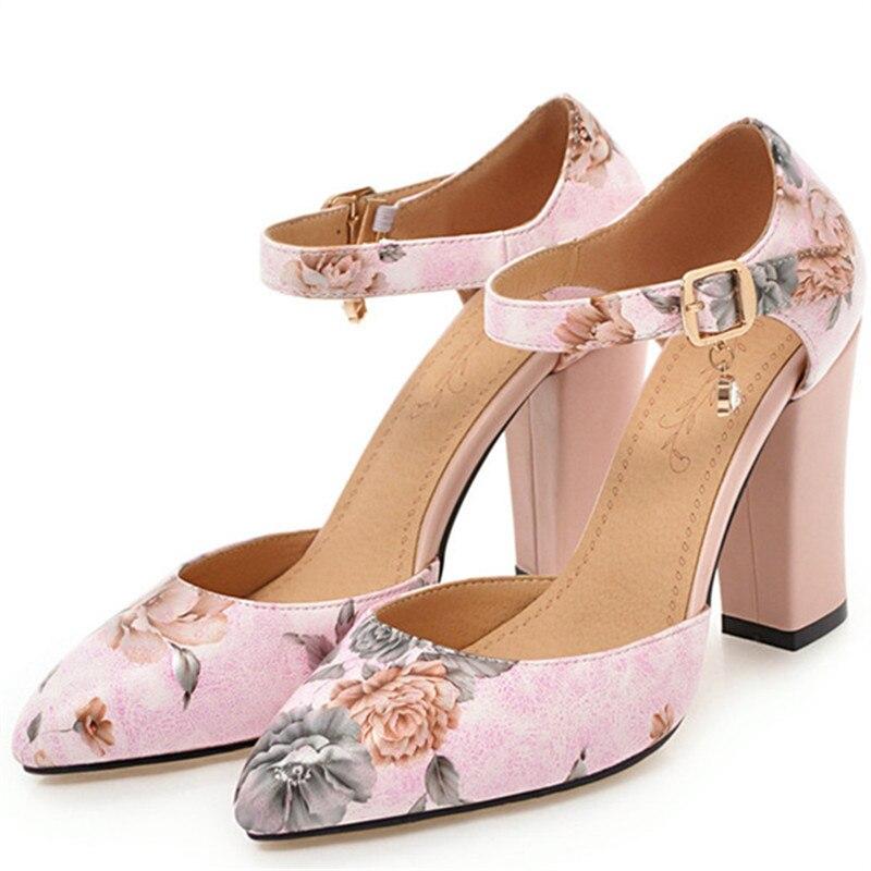 Élégant forme Pu De Plate Talons En Profonde Robe Boucle gris Femmes 43 Grand rose Mode Feiyitu Haute Ciel Peu Taille Pompes blanc Chaussures 34 Cuir w7qdWz