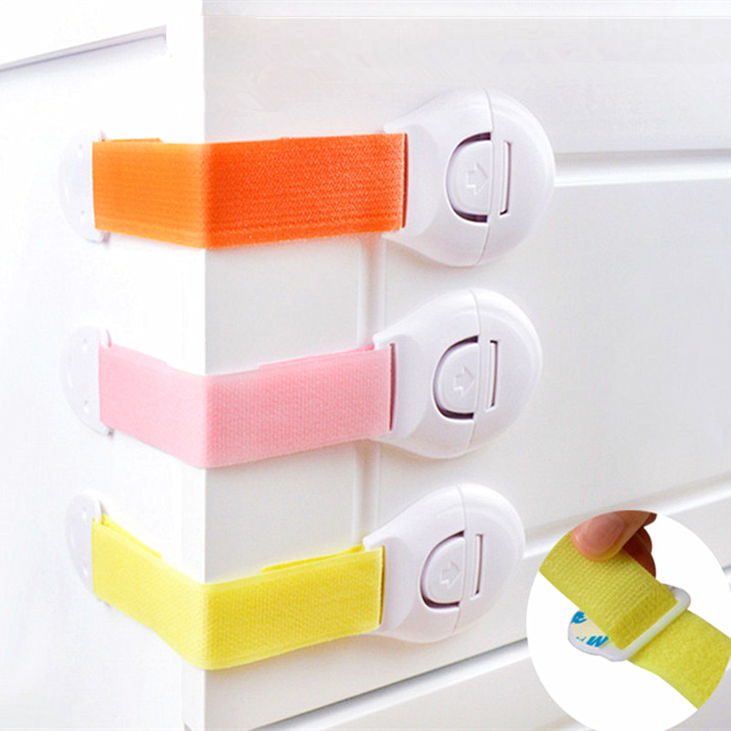 Security Cabinet Kids Safety Lock Baby Security Children Refrigerator Lock For Toilet Seat Security Baby Refrigerator Child Lock
