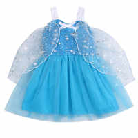 Neugeborenen Baby Mädchen 1-4 Jahre Geburtstag Kleid spitze Tüll Kleinkind Taufe Kleid Baby Prinzessin Cartoon königin Party Süße kleid