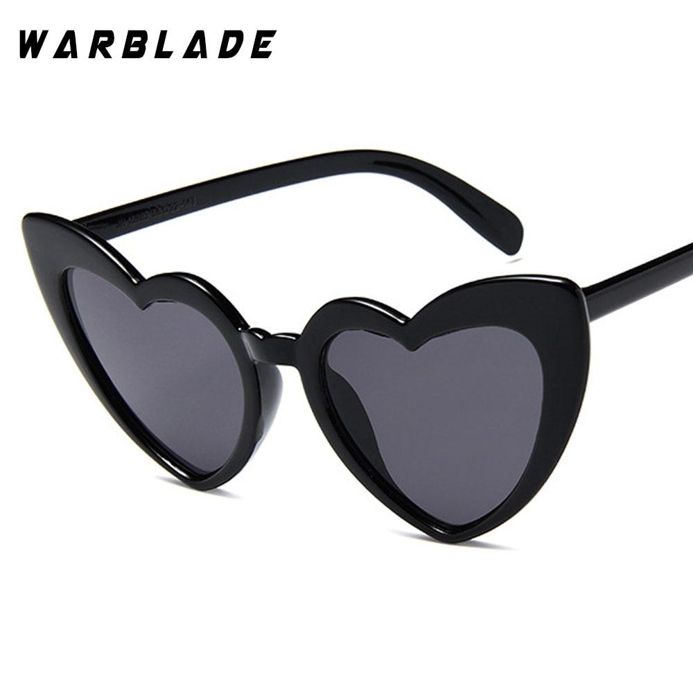 2018 Wanita kacamata Matahari Pria Retro Jantung Cat Eye glasses - Aksesori pakaian - Foto 3