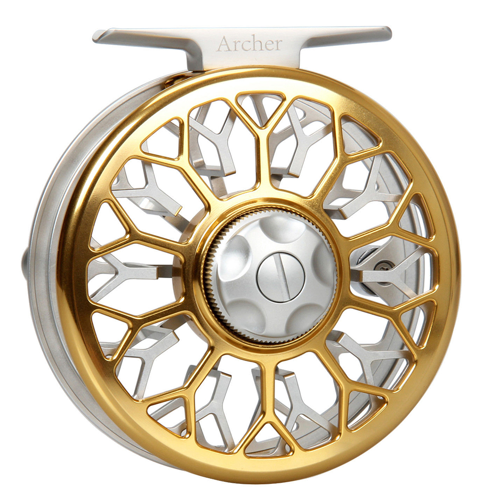 AnglerDream Archer Series 3/4 5/6 7/8WT CNC Machined Fly Reel Large Arbor Fly Fishing Reel With Spare Spool maximumcatch hvc 7 8 weight exclusive super light fly reel chinese cnc fly fishing reel large arbor aluminum fly reel