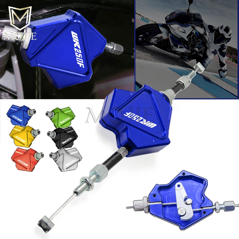 Motorcycle CNC Aluminum Stunt Clutch Lever Easy Pull Cable System For <font><b>YAMAHA</b></font> WR250F <font><b>WR</b></font> 250F 250 WR250 F 2005-2018 2017 2016 2015 image