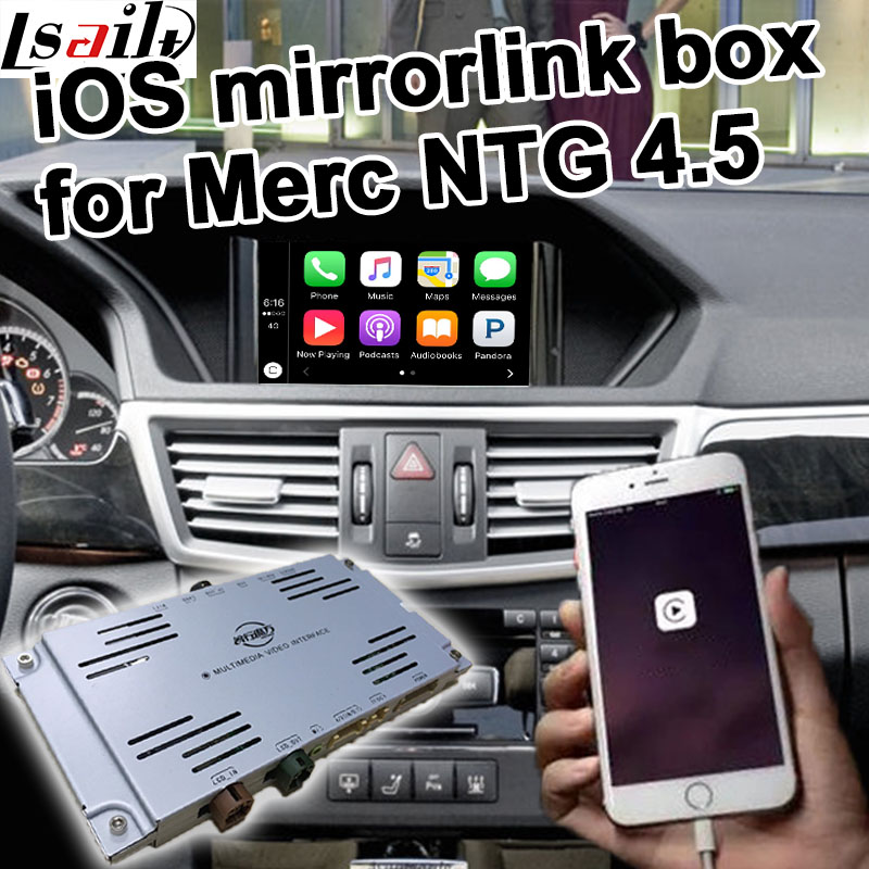 Apple iOS link box for Mercedes benz NTG 4 5 A B C E GLK ML