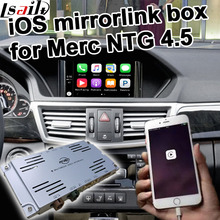 Apple iOS mirror hyperlink field for Mercedes benz NTG four.5 A B C E GLK ML command & auido20 and so forth