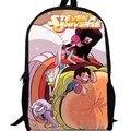 13 inch Стивен вселенная Рюкзак детский мультфильм Мешок Школы кино аниме сшитое двухслойной женщины мужчины сумка
