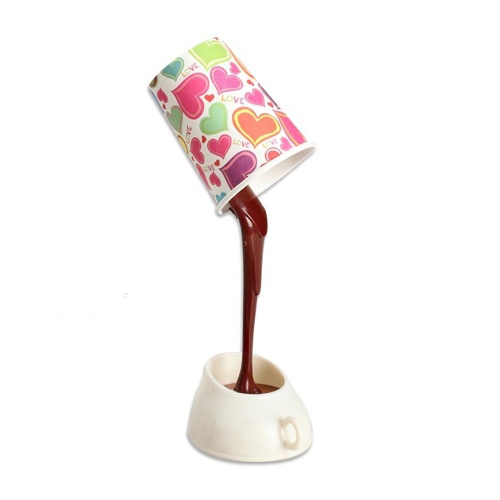 Diy Desk Lamp: DIY Table Lamp Eye Protection Desk Lamp Peculiar New LED Nightlight Coffee  Pour Lamp With USB,Lighting