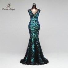 Robe longue de forme sirène, élégante tenue de soirée et de standing