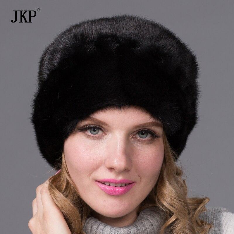 Praktisch 2018 Heißer Verkauf Frauen Russische Natürlichen Pelzmütze Luxus Nerz Hut Winter Pelzmütze Festsetzung Der Preise Nach ProduktqualitäT