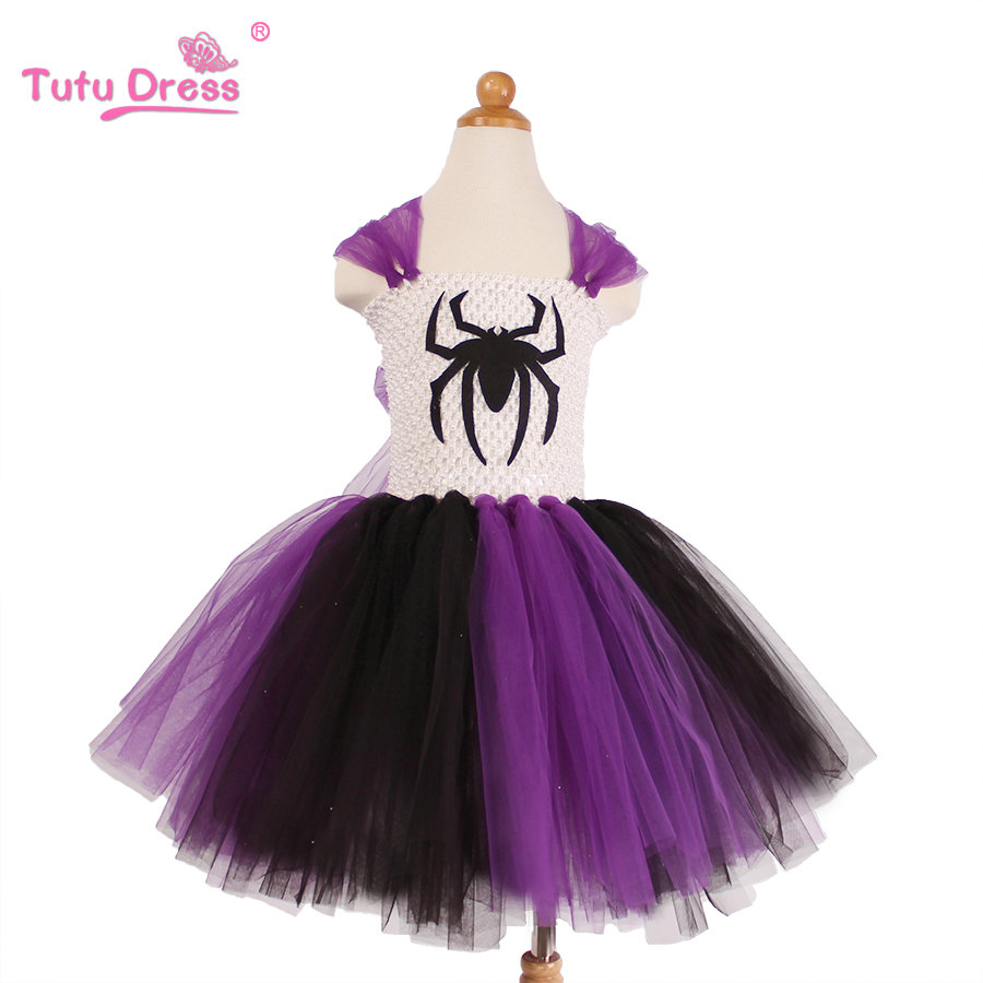 2017 New Arrive Girls Halloween Dresses For 2-12 Years Old Children Costume Tutu Dress Clothing Party Festive Dress hello bobo girls dress collection of sports in the new year is suitable for 2 to 6 years old children s clothing