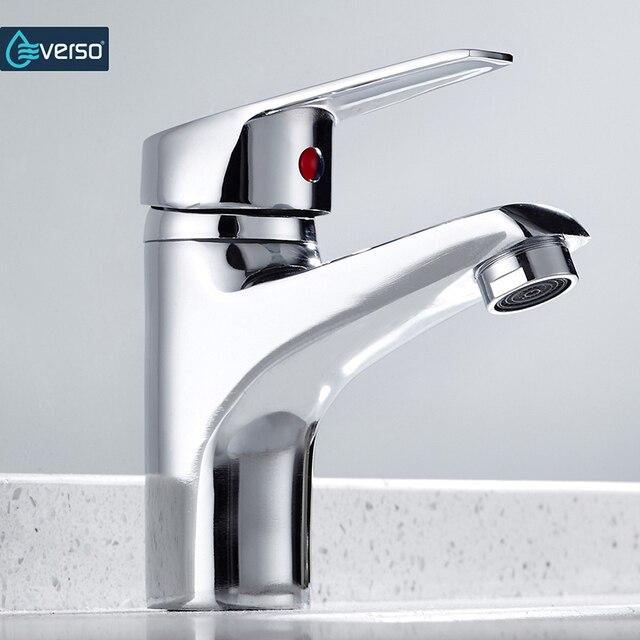 Beste verkauf Bad Becken Waschbecken Wasserhahn Chrom Einzigen Griff ...