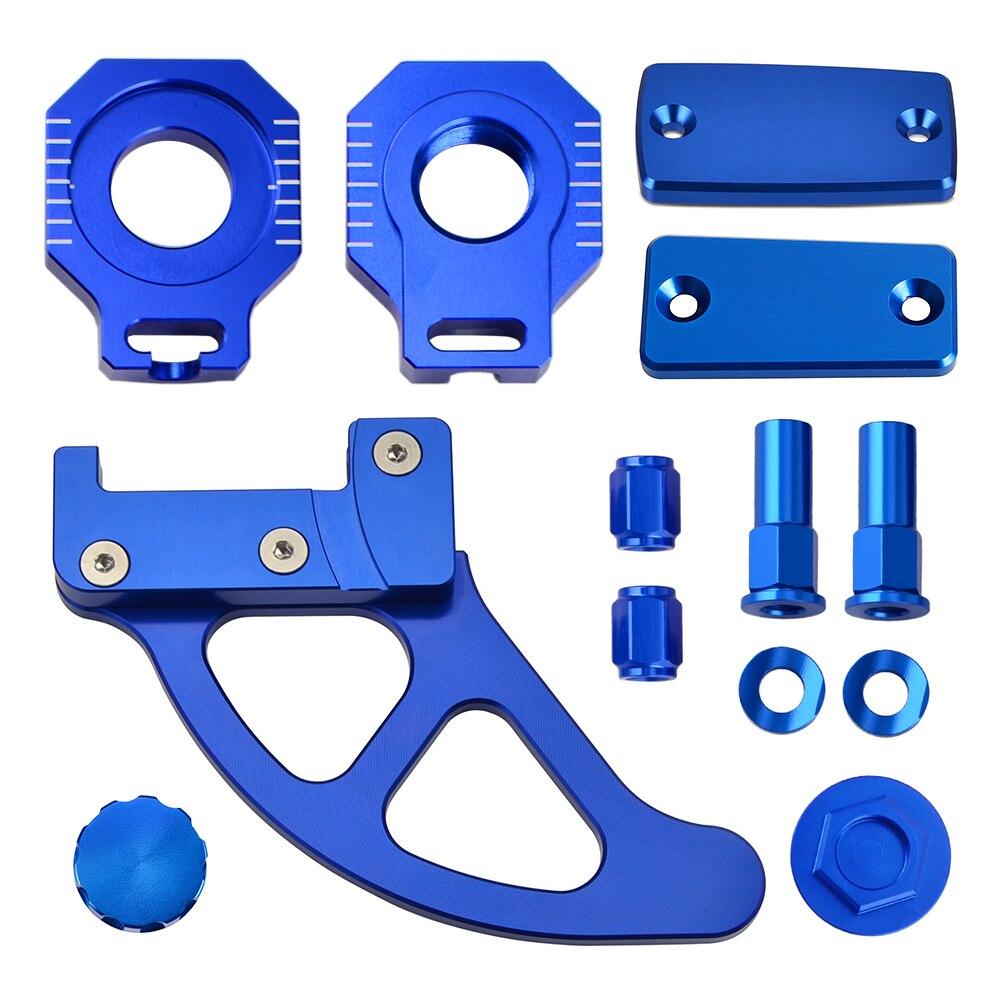 Запчасти для мотоциклов, тормозное сцепление, Крышка Резервуара, ось, блок, защита заднего тормозного диска для Husqvarna TC FC TX FX 125 250 300 350 450