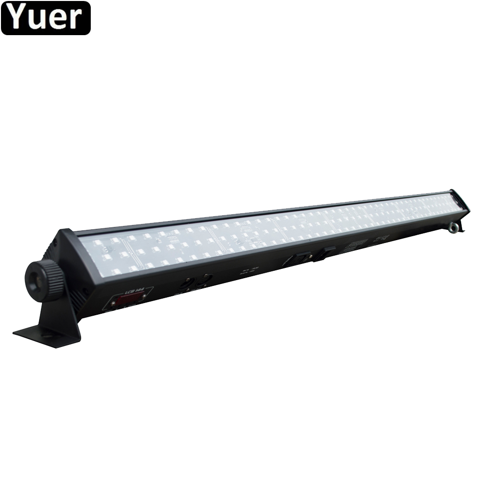 Free Shipping LED 144pc SMD RGB 3IN1 Wall Washer Light DMX Wash Bar LED Stage Lighting Professional Music DJ Disco Stage Light