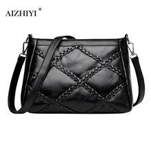 Fashion Zipper office bags for women Messenger Shoulder Bag
