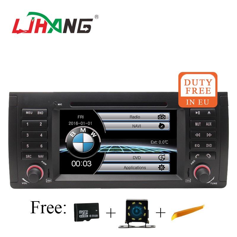 LJHANG HD 7 pouce Auto Radio stéréo De Voiture dvd lecteur Multimédia Pour BMW E39 M5 1995 ~ 2003 E53 2000 ~ 2007 GPS Navi headunit USB RDS FM