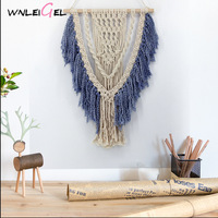 WLG Hanging decorations Bohemian cotton art wall decoration nordic style handmade decoration room decoration