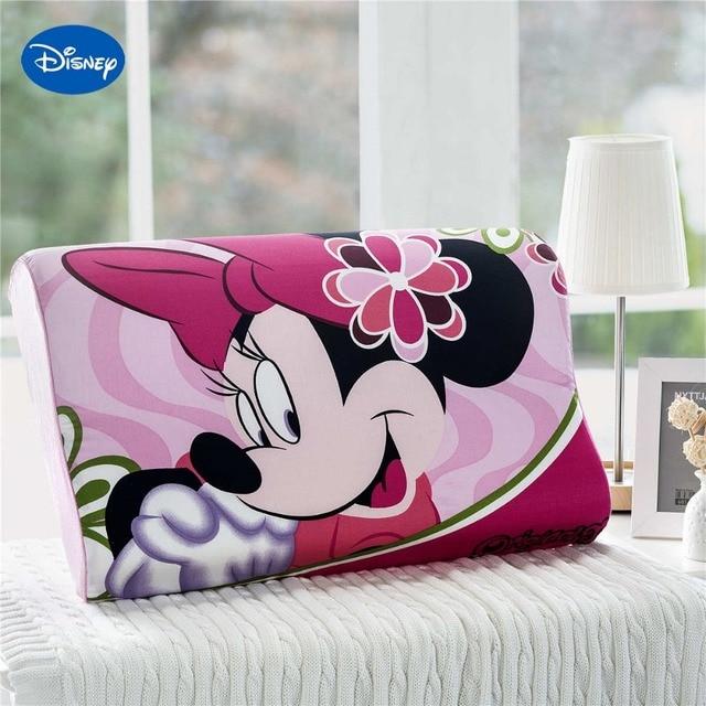Sweet Deep Pink Minnie Mouse Cartoon Memory Pillows 40x40cm Bedroom Extraordinary Minnie Mouse Decorative Pillow