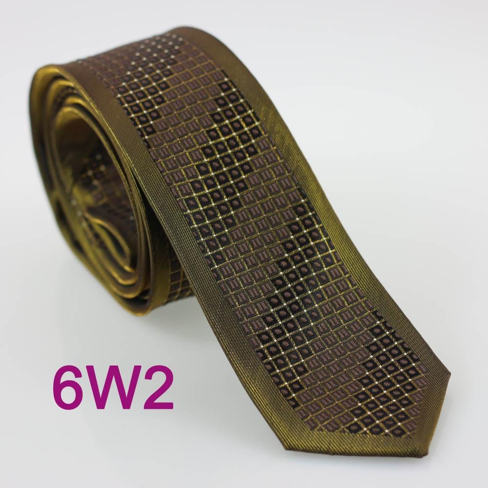 Галстуки YIBEI coahella оливковые зеленые галстуки, окаймленные коричневым постепенным изменением Диагональной полосы плед узкий галстук мужской Блестящий Gravata Seda