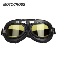 Motocross Goggles Helmet Glasses Dirt Bike MX Eyewear Windproof and dust proof and anti explosion goggles
