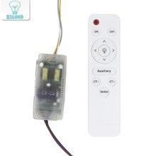 48W LED การแยกพลาสติก DRIVER AC85 265V ไดรฟ์หลอดไฟอินฟราเรดรีโมทคอนโทรล