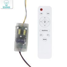 48W LED isolation kunststoff fahrer AC85 265V stick power beleuchtung transformator mit infrarot fernbedienung