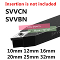 1 шт. SVVBN SVVCN 1010H11 1212H11 161616h11 1616H16 2020K11 2020K16 2525M11 2525M16 3232P16 svvcn20k16 CNC внешние токарные инструменты