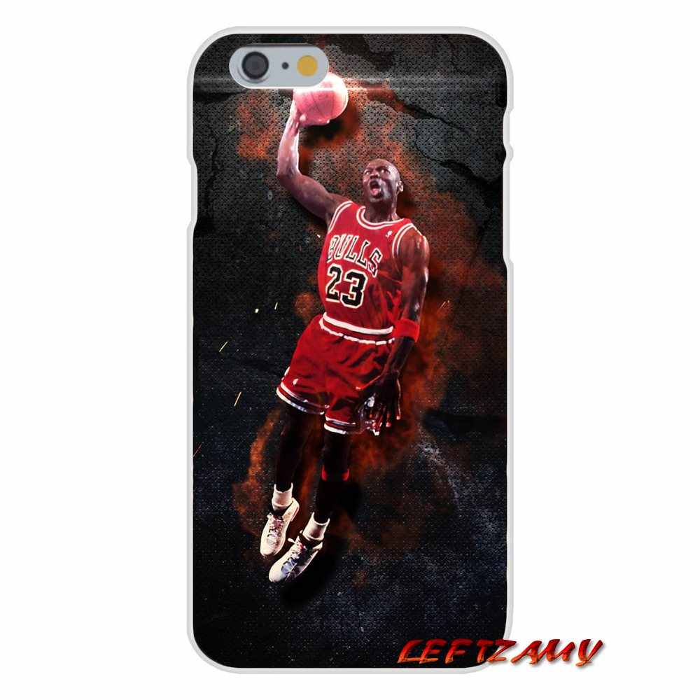 c53a6d54ef6360 ... fashion Michael Jordan 23 logo Accessories Phone Cases Covers For  iPhone X 4 4S 5 5S ...