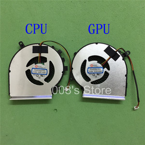 New CPU GPU OEM Fan For MSI GE72 GE62 PE60 PE70 GL62 GL72 2QD 2QE 2QF 007X 053X 216XCN Cooling Cooler PAAD06015SL DC5V 0.55A(China)