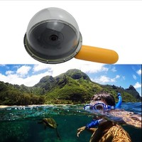 New Design 6 Dome Port For Xiaomi Xiaoyi Yi Action Camera Underwater Photography Dome Port For